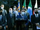 Governo lamenta morte de policiais e colegas dão resposta rápida ao crime na Capital