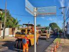 Prefeitura começa recapeamento na Avenida Rodolfo José Pinho