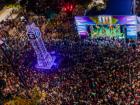 Altura alcançada não comportou na imagem o grande número de pessoas. Foto: Tero Queiroz