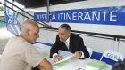 Ônibus da Justiça Itinerante estará presente na Caravana da Saúde em Naviraí. (Foto: Divulgação)