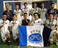 Alunos de handebol do Joaquim Murtinho ganham troféu de campeão da 34ª edição dos Jogos Escolares