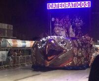 Samba no temporal; Os Catedráticos fecha Carnaval com grande apresentação