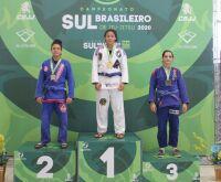 Meninas de MS faturam o ouro no Sul-Brasileiro de Jiu-Jitsu