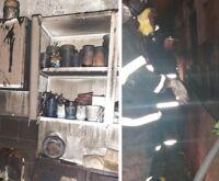 Idosa morre asfixiada após casa pegar fogo de madrugada