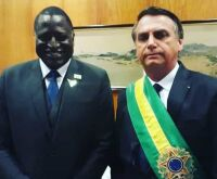 Bolsonaro diz que deputado negro deu uma 'queimadinha'