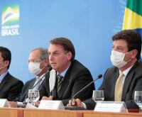 Moro, Guedes e Aras, apoiam Mandetta e 'isolam' Bolsonaro