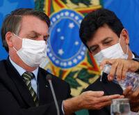 Na guerra de prestígios, Mandetta vai às alturas e Bolsonaro despenca