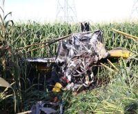 Avião cai e piloto com traumatismo craniano escapa da explosão