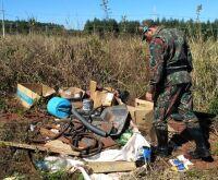 Empresa é multada em R$ 5 mil por descarte irregular de lixo em Naviraí