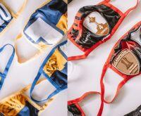 Para confecção de máscaras, jogadores doam camisas de seus times