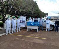 JBS doa cerca de 20 mil máscaras e viseiras de acrílico à hospital