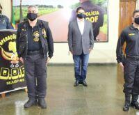 Polícia Militar conta com experiência do DOF no comando-geral