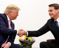 Bolsonaro repete Trump e chama antifascistas e terroristas