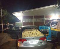 Polícia apreende dupla transportando maconha para revender no interior de SP