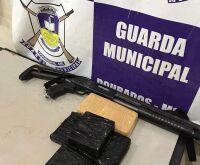 Guarda Municipal apreende cocaína na rodoviária