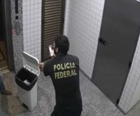 Vídeo mostra fuga de conselheiro por escadarias até flagrante da PF
