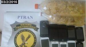 Em oepração Pente Fino, agentes encontram celulares, bebidas e até tablets em presídios de MS