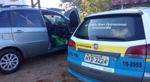 Polícia Militar Rodoviária apreende 100 kg de maconha