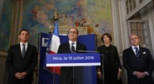 Após ataque em Nice, Hollande reforçará luta contra o Estado Islâmico
