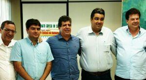 Prefeitos se reúnem com secretário de Cultura e o presidente da Fertel