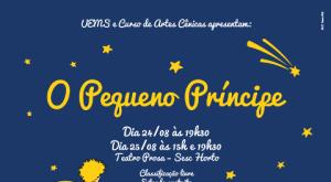 Curso de Artes Cênicas da Uems apresenta espetáculo O Pequeno Príncipe