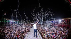 Gustavo Lima e DJ que encantou Madonna fazem grande show na Capital