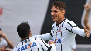Guerrero comemora gol do Corinthians em amistoso nos Estados Unidos