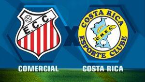 Costa Rica passa pelo Comercial e dispara no Grupo A