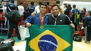Karateca de MS é convocado para representar o Brasil em torneio na Nicaraguá