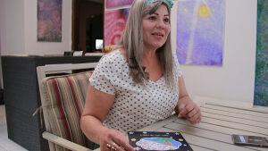 Escritora, pintora, poetisa, Vanda Ferreira revela detalhes de sua inspiração para criar