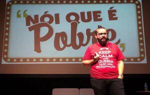 "Humorista traz espetáculo ""Nói que é Pobre"" para Campo Grande"