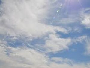 Sábado de sol entre nuvens com previsão de chuva no fim do dia