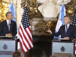Presidente Barak Obama e presidente Maurício Macri