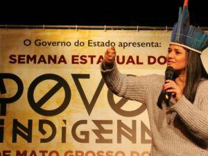 Rose ministra palestra 'Inseção da mulher indígena na política'