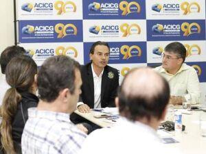 Marquinhos assegura parceria com comerciantes na Capital