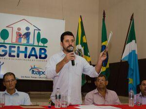Em campanha pela reeleição, prefeito de Itaporã é reconduzido ao cargo
