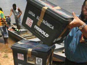 Eleitores terão apoio da Marinha e Exército no Pantanal