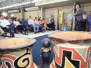 Reinaldo destaca participação da cultura regional e comunidades indígenas