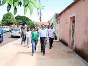 Caminhadas revelam sintonia da população com propostas de Marquinhos