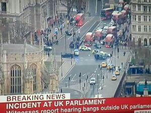 Tiroteio em Palácio Westminster britânico deixa 12 feridos e metrô fechado