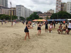 Torneio de Beach Tennis só para mulheres acontece neste sábado