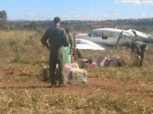 Avião com 500 quilos de cocaina é preso em ação conjunta da FAB com a PF