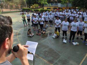 Projeto realiza ação neste sábado para combater obesidade na Capital