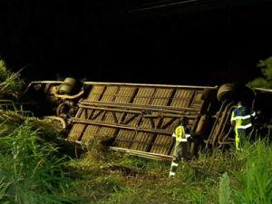 Tragédia: acidente com ônibus de sacoleiros deixa 5 mortos e 26 feridos