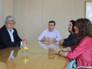 Visitantes chilenos foram recebidos pelo Reitor Pe. Ricardo Carlos