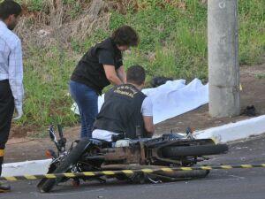 Motociclista que morreu na Via Park tinha 20 anos e era vigilante