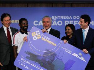 Presidente Michel Temer e líderes da pasta das Cidades