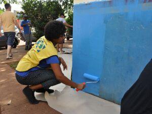 Ceinf recebe revitalização através de união entre programa social e da comunidade escolar