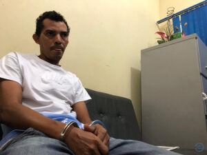Preso por tentativa de feminicídio homem que esfaqueou pescoço da ex-mulher