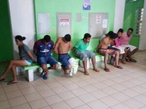 Todos os detidos estão sendo levados para a delegacia de Polícia Civil e posteriormente seguirão para o Estabelecimento Penal de Coxim e São Gabriel do Oeste